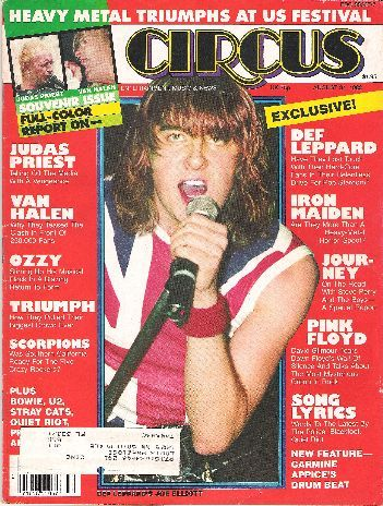 Circus magazine : Quiet Riot (Nov.1983)