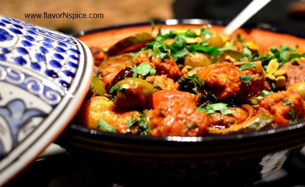 Chicken Kefta/Meatball Tagine | Dinner: Meat and chicken | Pinterest