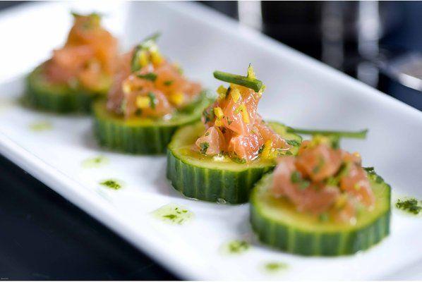 Zucchini appetizer from 48 lounge | Food Mafia - New York | Pinterest