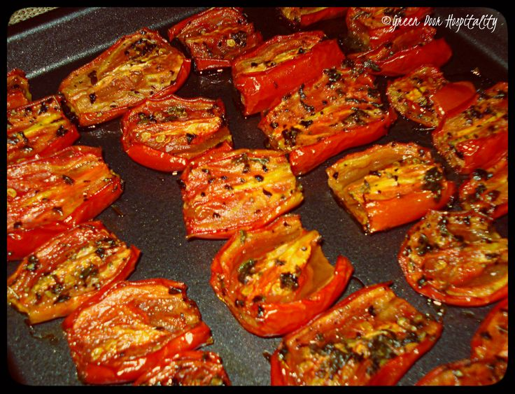 Homemade Staples: Slow-Roasted Tomatoes | roasted peppers and other ...