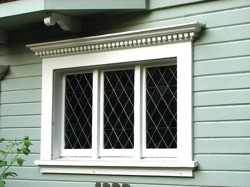 Diamond Window Panes Windows