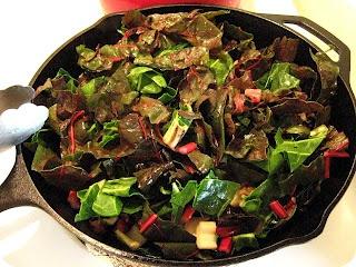 Rainbow Chard, Mushroom, and Quinoa Salad - making this for dinner ...