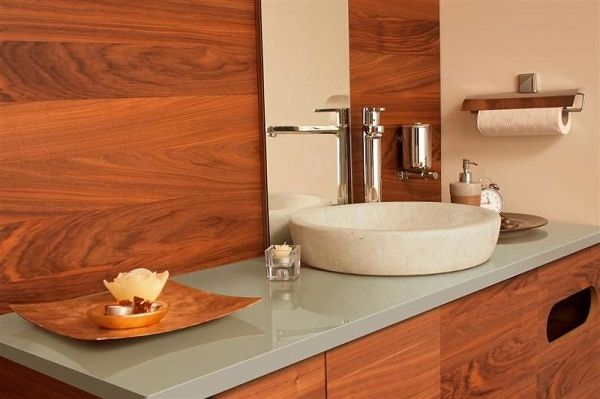 Cheapest Countertop Options : Inexpensive Bathroom Countertop Options masterbath Pinterest