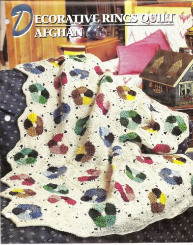 Crochet Afghan Patterns Quilt : rings quilt afghan crochet pattern !! I love these ...