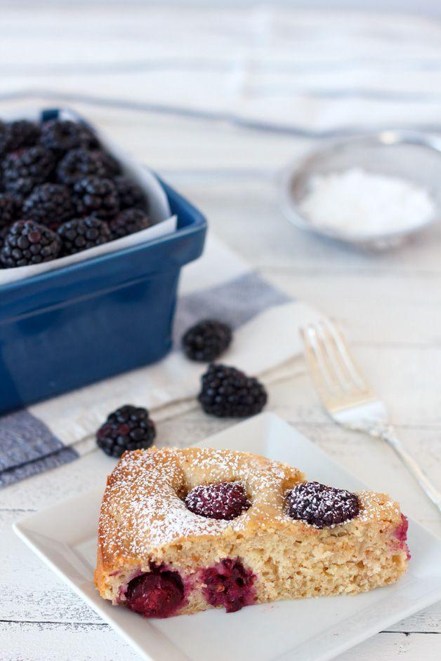 Blackberry Almond Breakfast Cake | Recipe