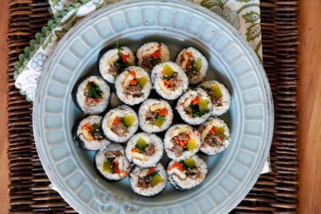 Beef Kimbap | Chef Julie Yoon | Food | Pinterest