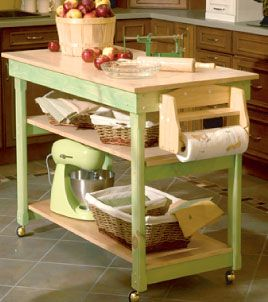 diy kitchen cart home pinterest