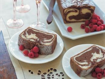 Yummy Marbled Pound Cake | Recipe