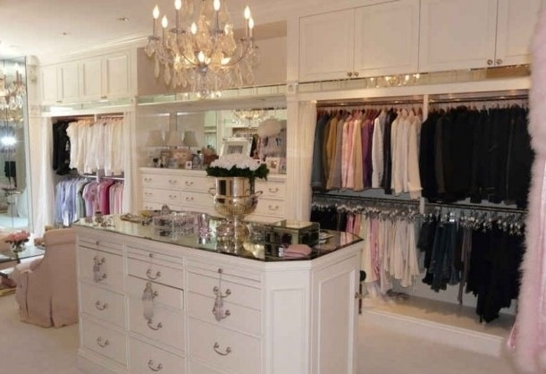 Walk In Closet Elegant Luxury For The Home Pinterest