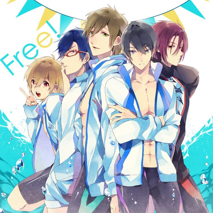Free Anime Fanart Free Iwatobi Swim Club Pinterest