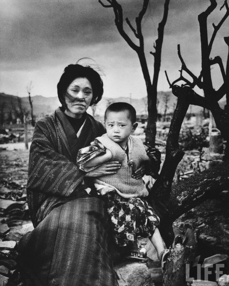 Hiroshima after the atomic bomb | Alfred Eisenstaedt