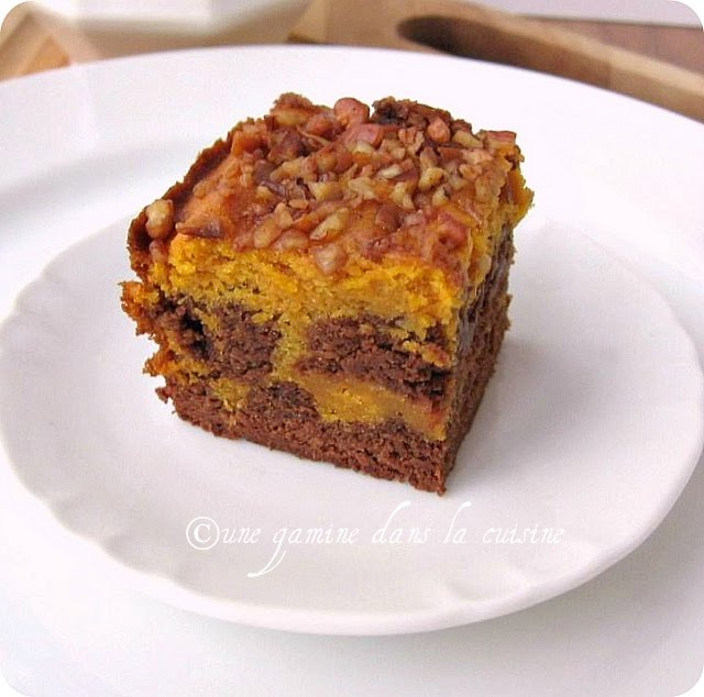 Pumpkin Swirl Brownies | Things to Make | Pinterest