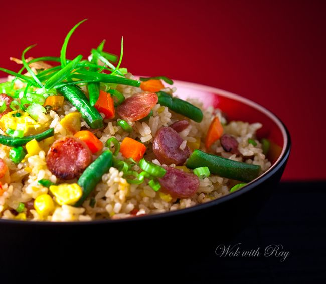 Quick and Easy Fried Rice   wokwithray.net- Filipino & Asian Home ...