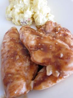 Hot and Sweet Chicken'...Made this on 7/1/2013...used drumsticks ...
