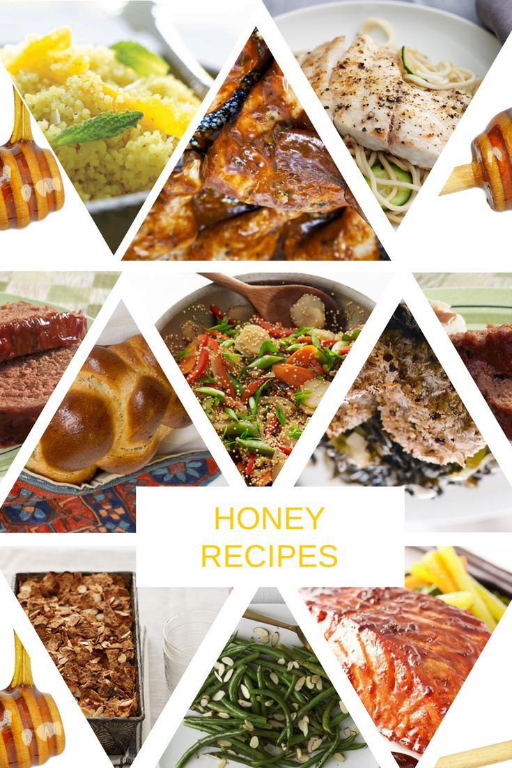 10 Sweet and Savory Recipes plus a chance to WIN a honey gift basket filled with honey, apron, honey dipper and cookbook!!