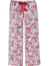 Simple Cute Pajamas Pants Pretty Pjs Cotton Drapey Pants Pajama Pants