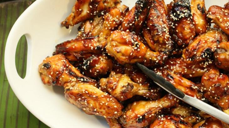 Sweet Soy-Glazed Chicken Wings Recipe   Favorite Recipes   Pinterest