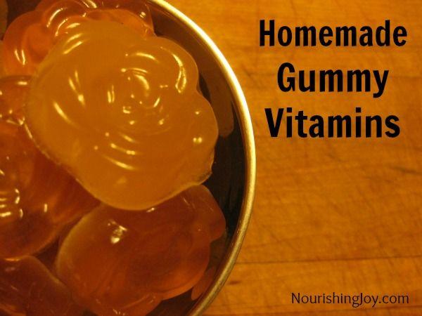 Homemade Chewable Gummy Vitamins