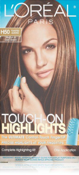 Oreal Paris Touch-On Highlights, H50 Toasted Almond:Amazon:Beauty