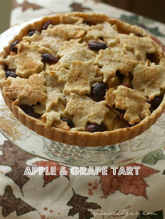 Grape & Apple Pie Recipes — Dishmaps