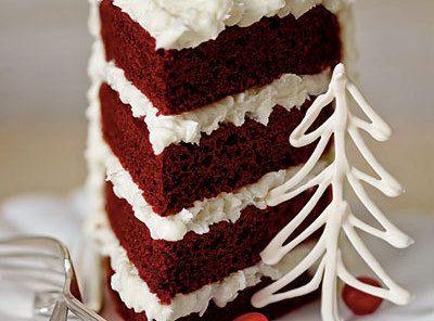Red Velvet Cake is wonderful dessert for the Christmas.