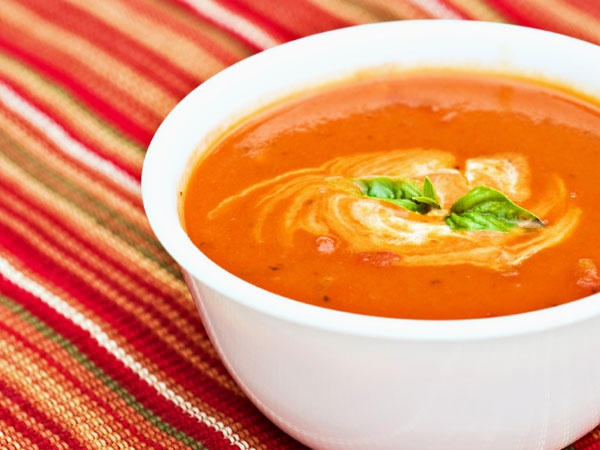 ... chunky vegetable sauce chunky tomato basil soup photo by author chunky