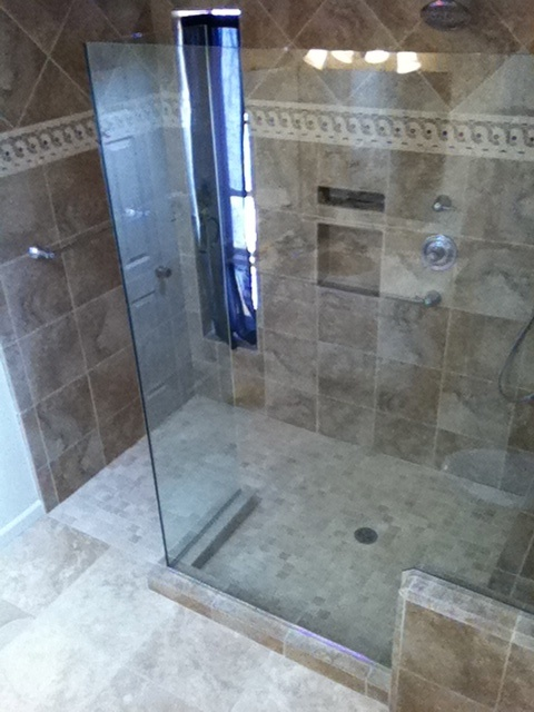 Roll In Shower For The Home Pinterest