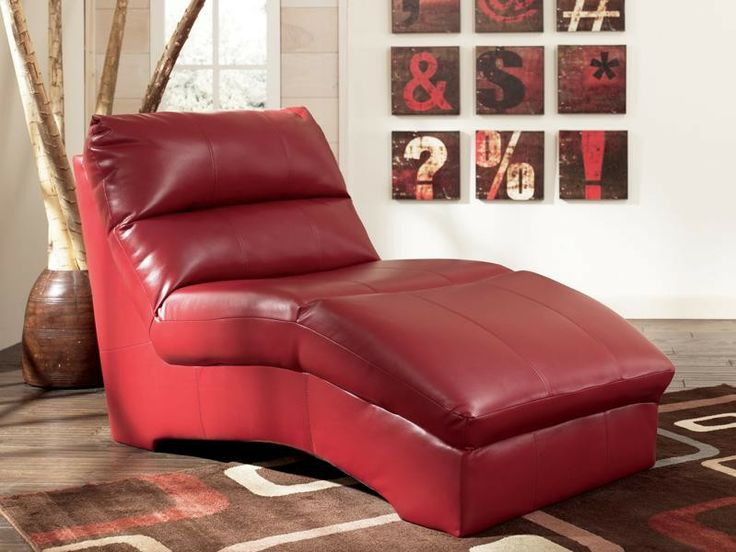 Pinterest for Ashley leather chaise lounge