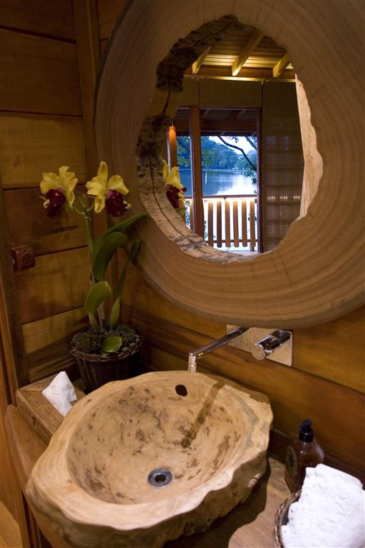 Treehouse bathroom treehouse tiny house pinterest - Tree house bathroom ...