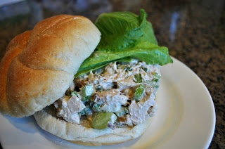 Chicken Salad with Grapes and Walnuts | Gotta try this | Pinterest