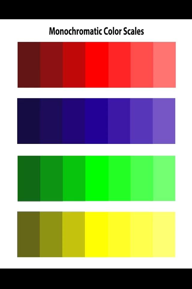 Monochromatic Color Scales Project : Art Education : Pinterest