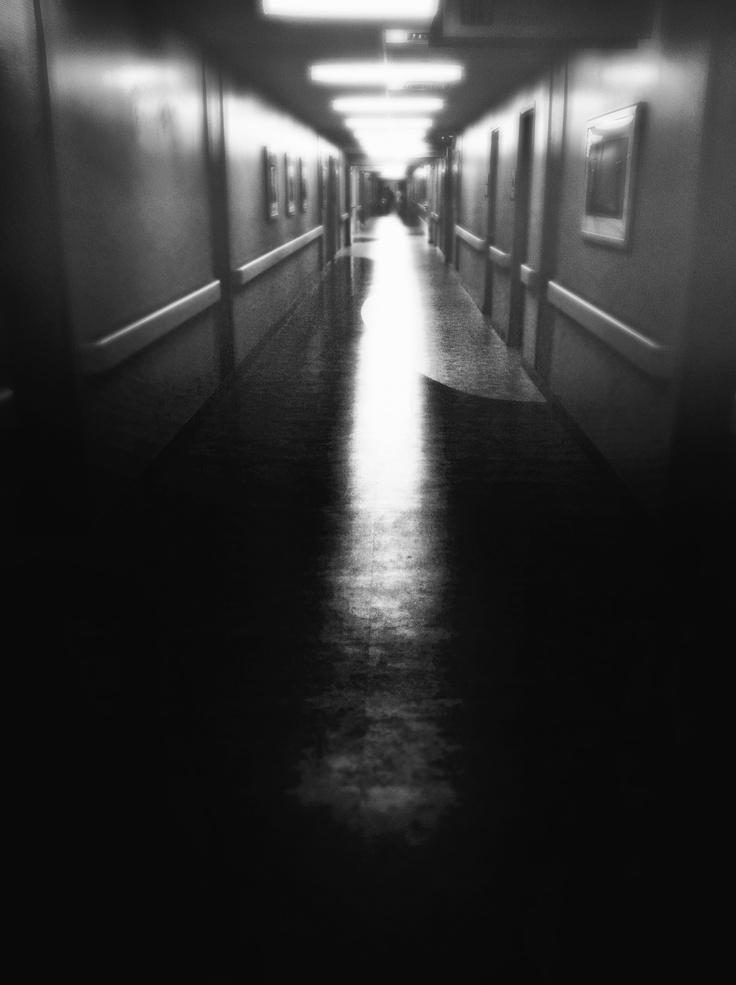 Hospital hallway.