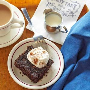 Chocolate Oatmeal Cake....salty sweet go find it in Minneapolis