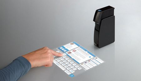 Love it! Light Touch Projector Keyboard - I hope this feature is part of the iPhone 5!