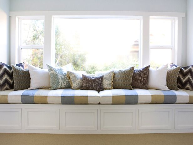 Window Seat Storage Bedroom For The Home Pinterest