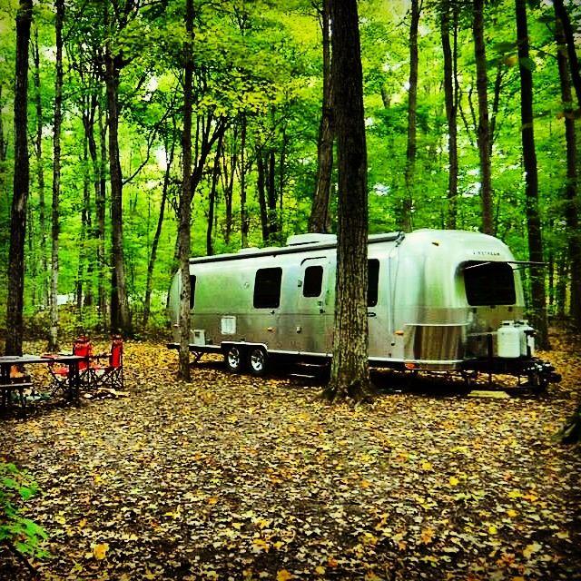 Popular Camping In An Airstream  Airstream Bambi Quicksilverairstream