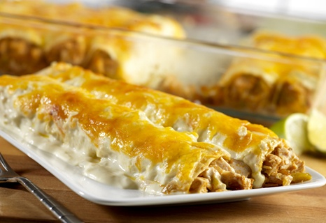 Turkey Enchiladas- A great way to use any leftover cooked turkey ...