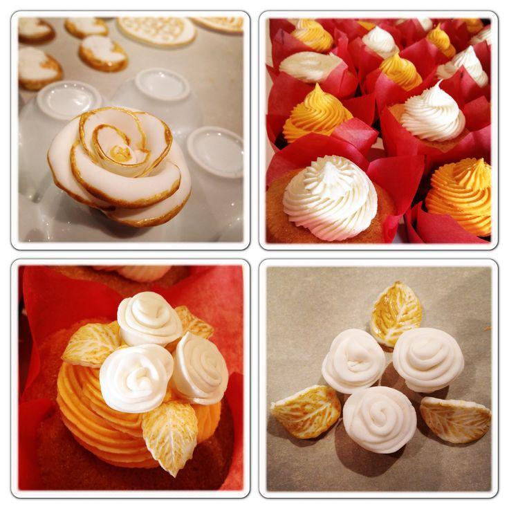 ... Girlie, Cupcakes, Vanilla, Chocolate, Pop Corn, Caramel Fleur de Sel