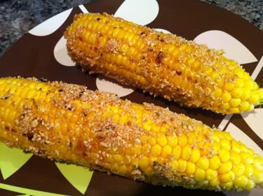 Thai-Style Grilled Corn with Roasted Peanuts | Recipe
