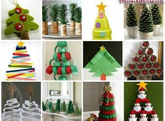 13 manualidades de rbol de navidad navidad pinterest - Manualidades de arboles de navidad ...