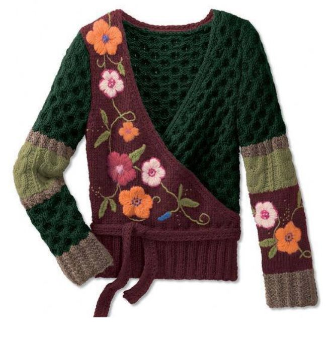 Creative Knitting : Creative knitting Crochet - CLOTHING Pinterest