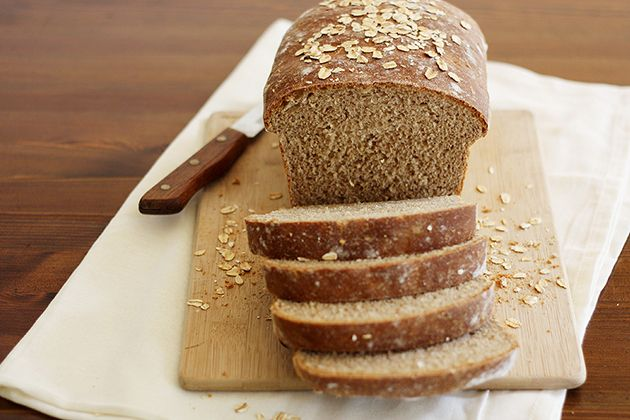 Whole Wheat Honey Oatmeal Bread. Made a loaf today and it turned out ...