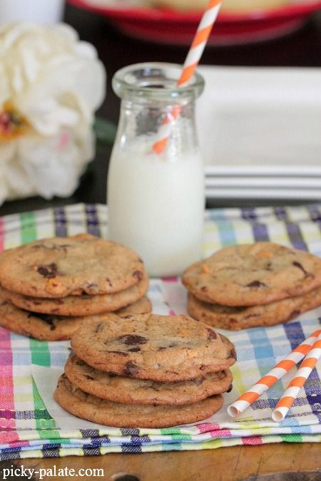 One Bowl Butterscotch Chocolate Chunk Cookies 1