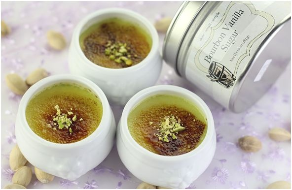 Recipe: Pistachio Creme Brulee | Must Try Dessert Recipes | Pinterest