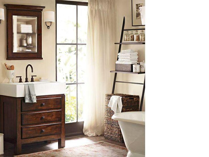 Pottery barn bathroom giggles pinterest for Bathroom decor pottery barn