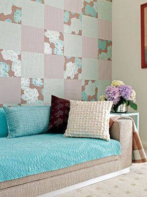 patchwork wall