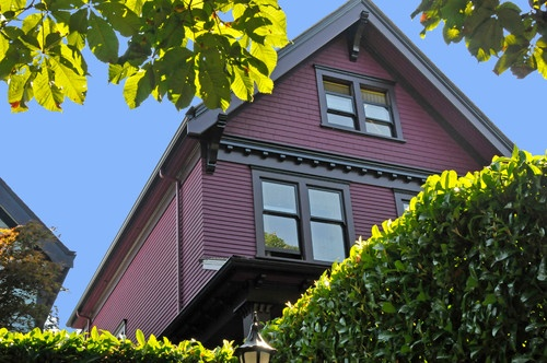 Purple exterior exterior colors pinterest - Purple exterior paint image ...