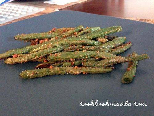 Parmesan Roasted Green Beans | Food | Pinterest