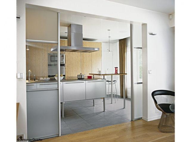 Porte coulissante separation portes coulissantes pinterest - Porte coulissante separation cuisine ...