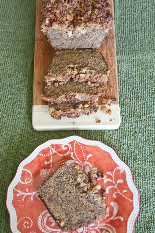 Caramelized Banana Rum Bread with Macadamia Crumb Topping recipes